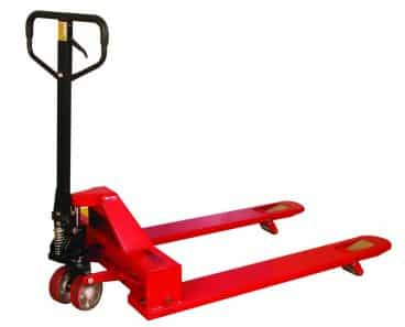 Wesco 273400 4-Way Pallet Truck with Handle
