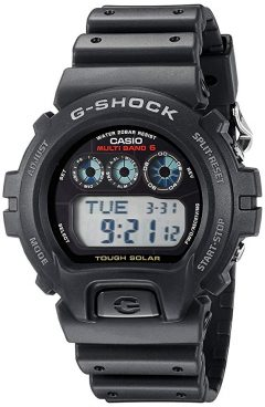 Casio Men's G-Shock GW6900-1 Tough Solar Black Resin Sport Watch