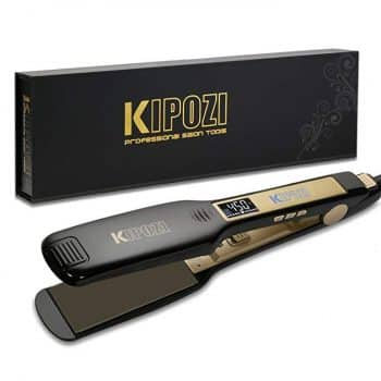 KIPOZI Professional Titanium Flat Iron Hair