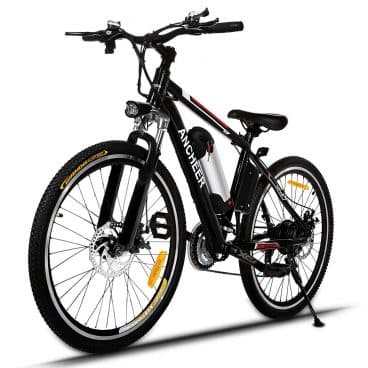 ANCHEER Power Plus Electric Mountain Bike with Removable Lithium-Ion Battery