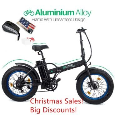 "ECOTRIC 20"" New Fat Tire Folding Electric Bike Beach Snow Bicycle ebike 500W Electric Moped Electric Mountain Bicycles"