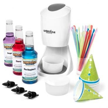 Shaved Ice Machine and Syrup Party Package