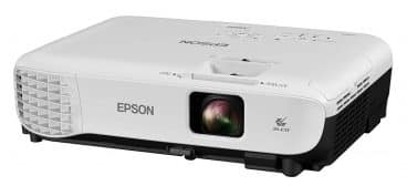 Epson VS250 SVGA 3,200 lumens color brightness