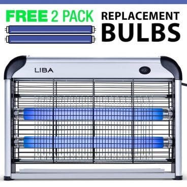 LiBa Bug Zapper & Electric Indoor Insect Killer Mosquito
