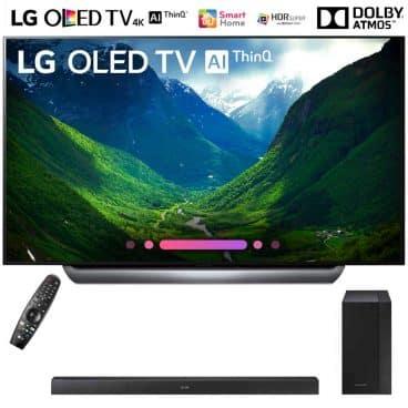 """LG OLED65C8PUA 65""""-Class C8 OLED 4K HDR AI Smart TV"""