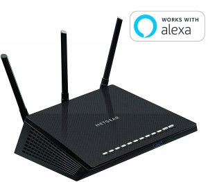 NETGEAR R6700 Nighthawk AC1750 Dual Band Smart WiFi Router
