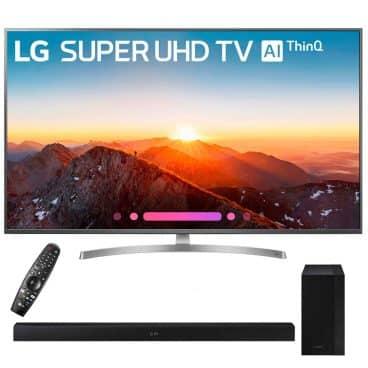 "LG 49SK8000PUA 49""-Class 4K HDR Smart LED AI Super UHD TV"