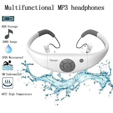 Tayogo Waterproof MP3 Player