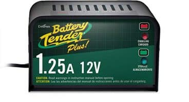 Battery Tender Plus 021-0128, 1.25 Amp Battery Charger is a Smart Charger