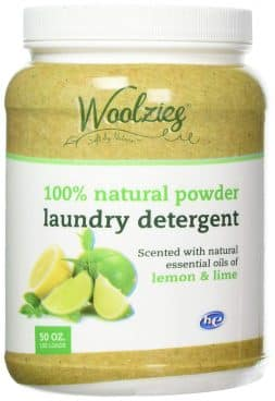 Woolzie 100% Natural Laundry Detergent Scented with Lemon & Lime