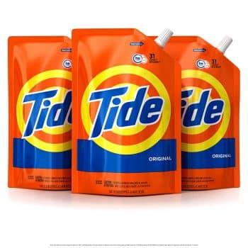 Tide Liquid Laundry Detergent Smart Pouch