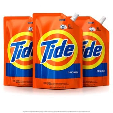 Tide Liquid Laundry Detergent Smart Pouch