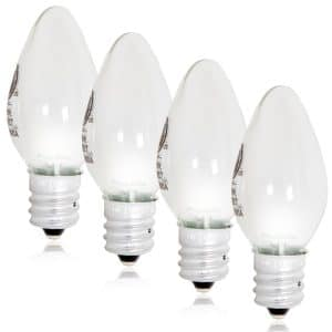 Maxxima LED C7 Candelabra Night Light Replacement Bulb 12 Lumens