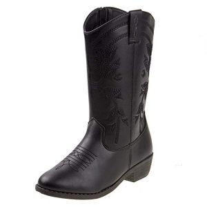 Kensie Girl Girls Western Cowboy Boot (Toddler, Little Kid, Big Kid)