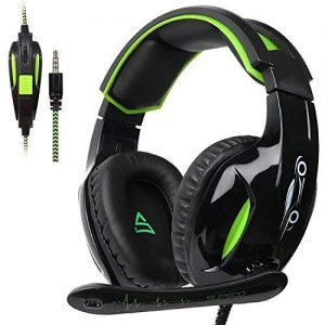 Xbox One Headset PS4 Gaming Headset with Mic LED Lights