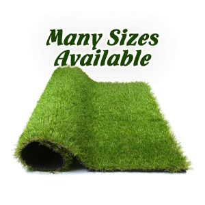 Forest Grass 4FT X 7FT Artificial Carpet Fake Grass Synthetic Thick Lawn Pet Turf for Dogs Perfect for Indoor