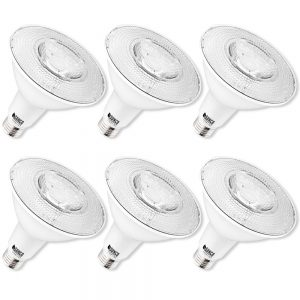 Sunco Lighting 6 Pack PAR38 LED Bulb 13W=100W
