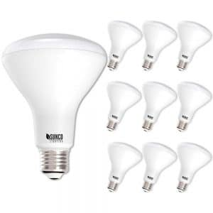 Sunco Lighting 10 Pack BR30 LED Bulb 11W=65W