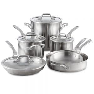 Calphalon Signature Stainless Steel Cookware Set