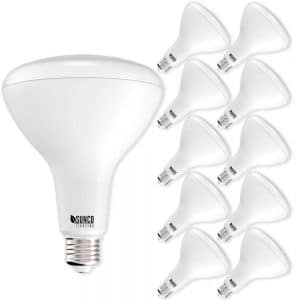 Sunco Lighting 10 Pack BR40 LED Bulb