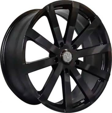 "22"" Inch Velocity VW12 Gloss Black Wheels Rims"