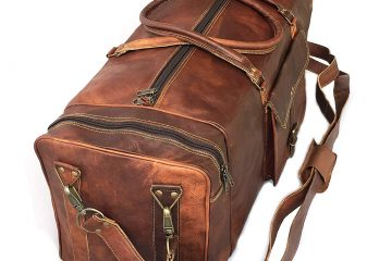 Top 12 Best Leather Duffle Bags Review 2021