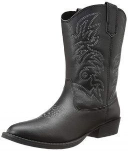 Deer Stags Ranch Unisex Pull-On Western Cowboy Fashion Comfort Boot