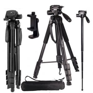 Regetek Camera Tripod Travel Monopod