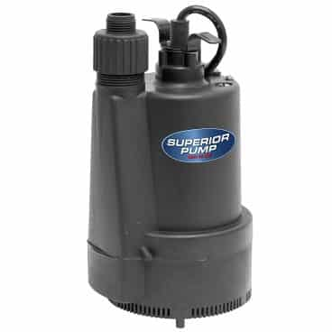 Superior Pump 91330: 1/3 HP Utility