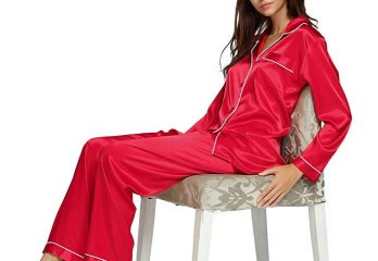 Top 12 Best Women Silk Satin Pajamas Sets of 2019 Reviews