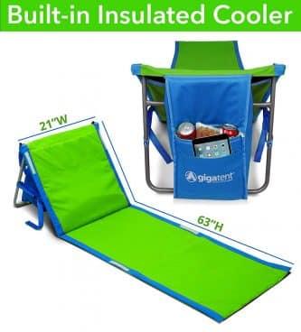 GigaTent Portable Beach Lounge Chair Mat