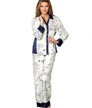Julianna Rae Women's 100% Silk Pajama