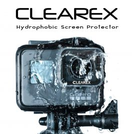 CLEAREX Hydrophobic Screen Protector for GoPro Hero 5, 6, & 7