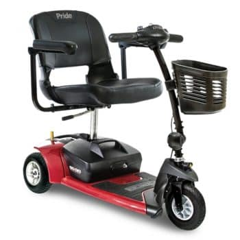 3-Wheel Electric Scooter - Pride Mobility Go-Go Ultra X-3