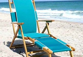 Chaise Style Beach Lounge Chair