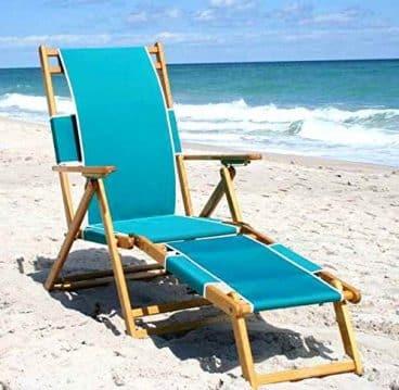 Chaise Style Beach Lounge Chair