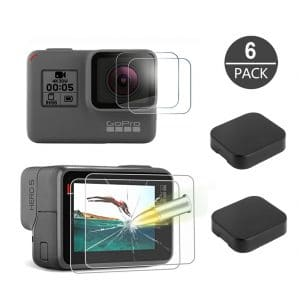 Tempered-Glass Screen Protector for GoPro Hero 7