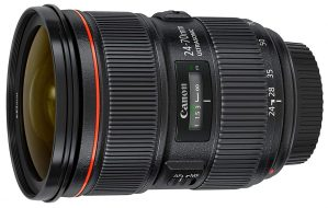 Canon Wide Angle Lens EF 24-70mm f/2.8L II USM len
