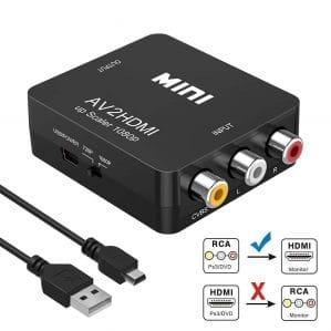 RCA to HDMI, AV to HDMI