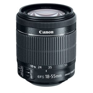 Canon Wide Angle Len EF-S 18-55mm f/3.5-5.6 Lens