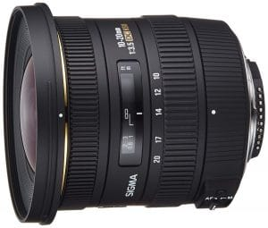 Sigma f/3.5 EX DC HSM ELD SLD Aspherical Wide Angle Lens Nikons