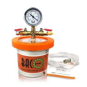 BACOENG Universal Vacuum Chamber Series: Standard 1.2 Quart