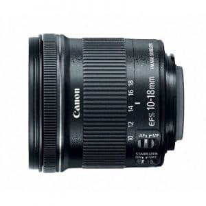 Canon Wide Angle Lens EF-S 10-18mm f/4.5-5.6 IS STM lens