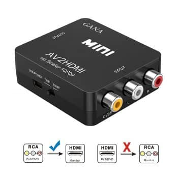 Best RCA to HDMI converters
