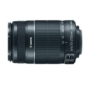 Canon Wide Angle Len EF-S 55-250mm f/4.0-5.6 IS II Telephoto