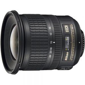 Wide Angle Lens Nikon 10-24 mm AF-S ED zoom Nikkor lens