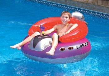 10. Swimline UFO Spaceship Styled Squirter Bumper Boats