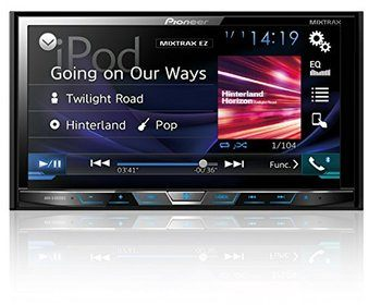 11. Pioneer Android Car Stereos Motorized DVD Receiver