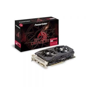 Power Color Red Dragon RX 590 8GB Gaming Graphics Card