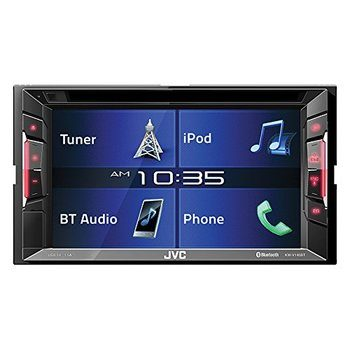 13. JVC Android Car Stereo Double Din BT in-Dash